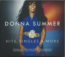 Donna Summer - Hits, Singles & More [Greatest Hits] (2CD 2015) NEW/SEALED
