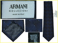 ARMANI Cravate Homme 100% Soie Made Italy 135€ ¡Ici Moins! AR01 N0P