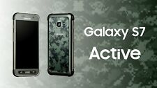 *NEW SEALED*  Samsung S7 ACTIVE 32/G891A AT&T Smartphone/Green/+64GBMemery Card
