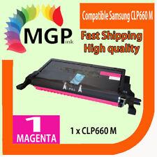 1 Compatible Magenta Toner for Samsung CLP610 CLP660 CLP-610 CLP-660