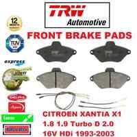 Per Citroen Xantia X1 1.8 1.9 Turbo D 2.0 16V HDI 1993-2003 Ant. Freno Set Fasce