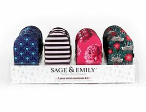 DM Sage & Emily Perfectionist 5 Pc Manicure Set, Choose Your Style (SEMSET-AS24)