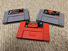 SNES Spider-Man game lot MAXIMUM CARNAGE Separation Anxiety Authentic Working