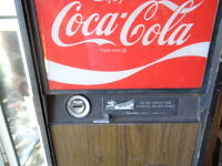 Vendo Coke Machine V-63 -7     53 Inch Tall coca cola     dr pepper
