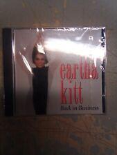 Eartha Kitt CD Back in Business New