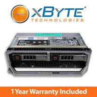 Dell PowerEdge M630 Server 2x E5-2690v3 2.6GHz 12C 128GB 2x 120GB SSD H730