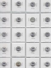 Lot of 20 Canada 1967 Commemorative Silver Ten Cents - Brilliant Uncirculated