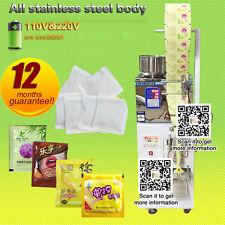2-200g,auto powder filling and Three-side sealing machine for leaf, grain,tea