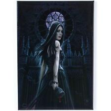 GOTHIC SIREN HOLDING CHALICE  FRIDGE MAGNET BY ANNE STOKES