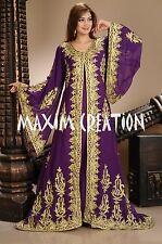 DUBAI VERY FANCY KAFTANS abaya jalabiya Ladies Maxi Dress New Wedding gown 4458