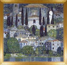 Gustav Klimt Church in Cassone Canvas Giclee Print