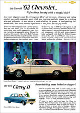 CHEVROLET 62 IMPALA COUPE RETRO A3 POSTER PRINT FROM CLASSIC ADVERT 1962