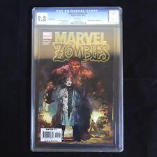 Marvel Zombies #1 4th print variant CGC 9.8 2006 Marvel Incredible Hulk homage