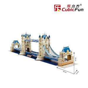 Tower Bridge Model 3D Puzzle Jigsaw Cardboard Puzzles Educational Toys MC066h
