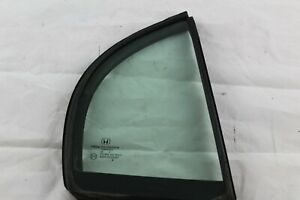 2010-2011 Honda Civic Sedan Passenger Right Rear Door Quarter Glass with Seal