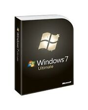 Microsoft Windows 7 Operating System Software
