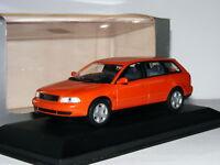 Minichamps 1994 Audi A4 Avant Metallic Orange Dealer Edition 1/43