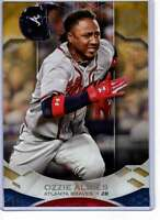 Ozzie Albies 2019 Topps Tribute 5x7 Gold #56 /10 Braves