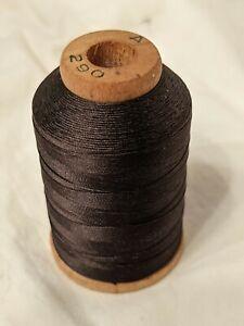 Brown Pure Silk Thread Belding Corticella Full Spool 2/3 Oz.