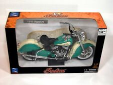 New Ray 1948 Die-Cast Green Indian Motorcycle NRFB 1:6 Scale