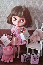 New Doll Miniature Luxury Shopping Bags Shoe Box Dollhouse Blythe Poppy Barbie