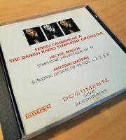 Celibidache & The Danish Radio S. O., Berlioz, Dvorak, Live, CD Documents, NM