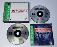 Metal Gear Solid PS1 (Sony PlayStation 1, 1999) Tested