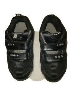 Pediped Size 12.5 US 29 Europe, black Boys tennis Shoes Pre-owned