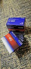 5x Sony Hi MD 1gb Minidisc