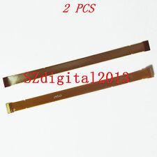2PCS / LCD Flex Cable For Fuji Fujifilm HS20 HS22 HS25 HS28 HS30 HS33 EXR Camera