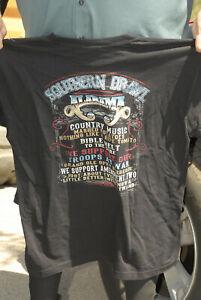 Alabama Southern Rock T shirt 2XL near mint+ heavy cotton great art look 80s 90s