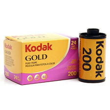 5 x KODAK GOLD 200 Color Plus 35mm 24 Exp. Colors Negative Film i