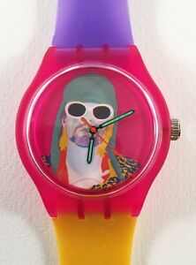 Nirvana Kurt Cobain watch - Retro 90s designer watch