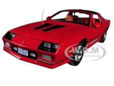 1985 CHEVROLET CAMARO IROC-Z RED 1/18 DIECAST MODEL CAR BY SUNSTAR 1941