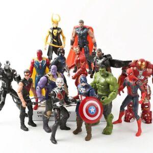 16 cm Marvel Avengers Movie Anime Super Heros Action Figure Toys