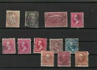 united states early used  stamps ref r10236