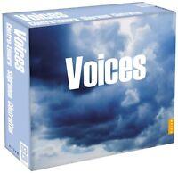 VOICES 3 CD NEU VIVALDI/BACH/HÄNDEL/DOWLAND/MOZART/ROSSINI/+