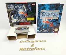 "Super Nintendo Spiel "" Terranigma "" | Snes | Ovp | Pal | CIB | Big Box"