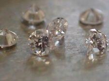 6 Diamants Naturels Ronds - 2.50mm - VVS2/E - SUPERBES !!!