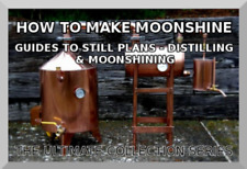 STILL PLANS GUIDE -HOW TO MAKE MOONSHINE,CORN WHISKEY, GIN & LIQUORS ON DISK PDF