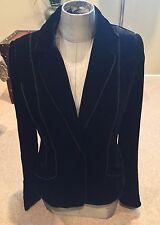 Gorgeous Black Velvet Jacket -Laundry Size 8