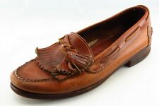 Cole Haan Shoes Sz 11 C Almond Toe Brown Loafer Leather Men