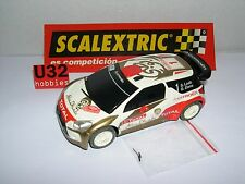 SCALEXTRIC CITROEN DS3 WRC #1 .S.LOEB-D.ELENA  ONLY IN SETS.MINT UNBOXED