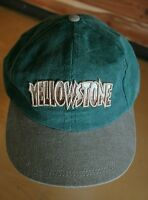 YELLOWSTONE NATIONAL PARK Embroidered Ball Cap Adjustable Hat EUC