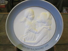 Lladro ~ Spain ~ Dia De La Madre 1975, Mother & Daughter Plate, Euc