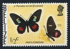 Belize 345a wmk 373,MNH.Michel 330Y. Butterflies 1975:Parides arcas - Cramer