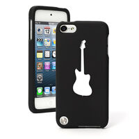 For Apple iPod Touch 4th 5th 6th Rubber Hard Case Cover Bass Guitar