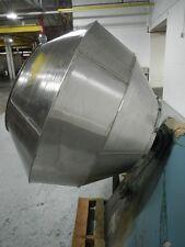 """42"""" Stokes Coating Pan - Polishing Pan Stainless Steel Pan Contruction"""