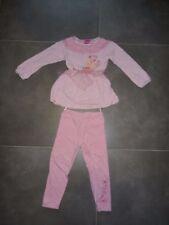Pyjama 2 pièces Robe de nuit rose imprimé Princesses Aurore DISNEY 3 - 4 ans