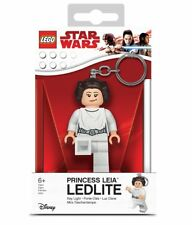 "LEGO STAR WARS PRINCESS LEIA KEYLIGHT-CHAIN LED TORCH 3"" LEDLITE GREAT GIFT"